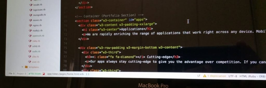 HTML met headings