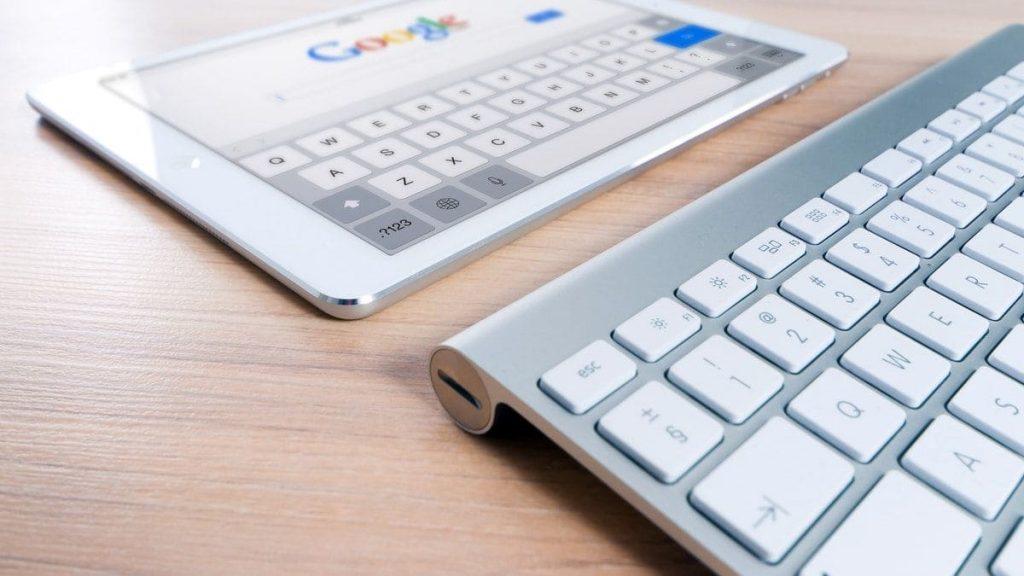 toetsenbord en ipad