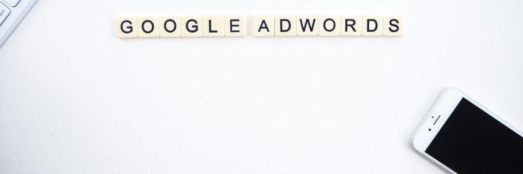 Google Adwords - nu Google Ads in rummikub letters