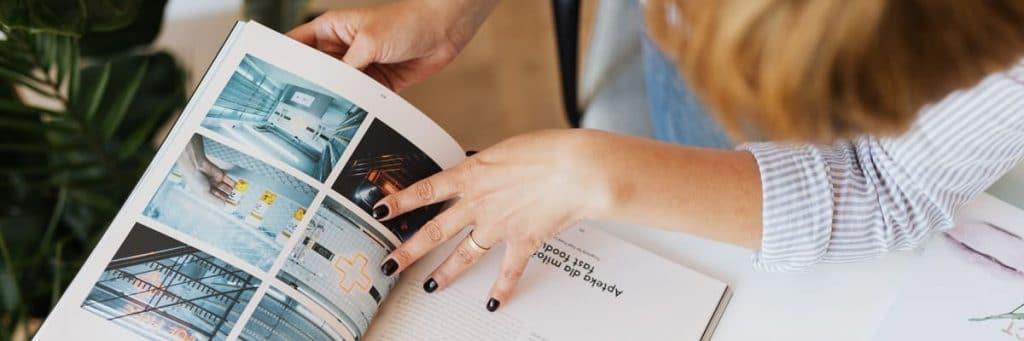 magazine met afbeeldingen