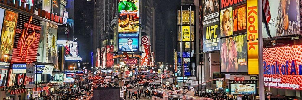 reclameborden in new york